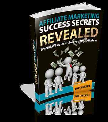 AFFILIATE MARKETING Success Secrets Revealed - Generate A Source Of Income (CD)