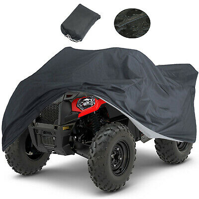 XL 190T Waterproof ATV Cover Universal Fit Polaris Honda Yamaha Can-Am Suzuki