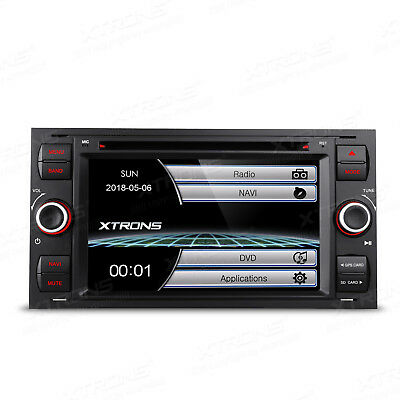 "Double DIN 7"" Car Radio DVD Stereo GPS SatNav Bluetooth Ford Transit/Galaxy/Kuga"