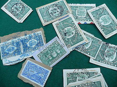 #142 - #302 Scott Customs duty Canada postage stamps 15 lot P183