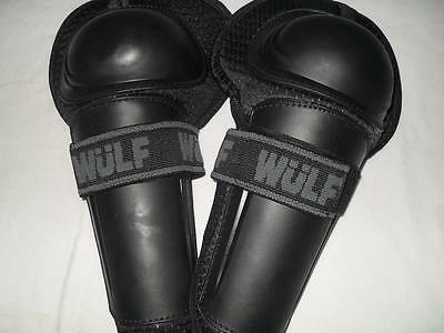 Wulfsport Kids Knee Pads Motocross Quad Protection
