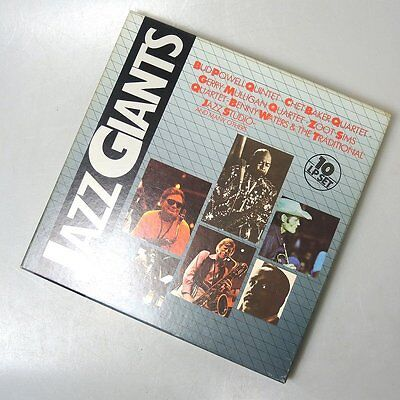 10 LP-Box Jazz Giants Vinyl Curcio