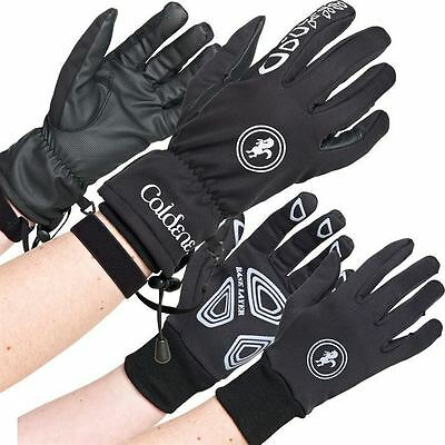 Caldene Mens 3 In 1 Gloves Reinforced Hands Horse Riding Equestrian Accessories