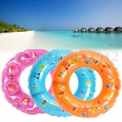 Inflatable Safe Swim Ring For Kids Child Boy Girl Beach Swimming Pool Toy Gift