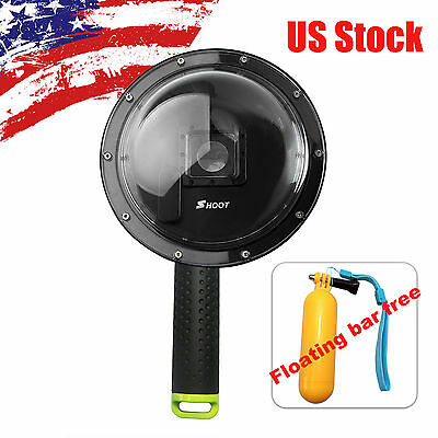 "SHOOT 1.0 Version 6"" Dome Port Lens Diving Camera Cover Housing f GoPro Hero 3+4"