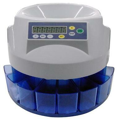 Automatic Electronic Money Coin Cash Counter Counting Sorter Auto Machine Gbp