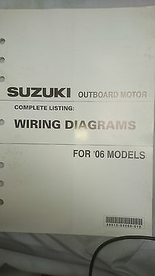 Suzuki Outboard Motor Wiring Diagrams All 2003 Models