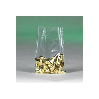 """""""Flat 2 Mil Poly Bags, 9""""""""x16"""""""", Clear, 1000/Case"""""""