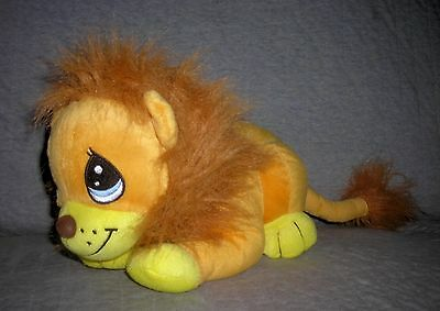 PRECIOUS MOMENTS  plush stuffed LION   by NANCO    12 INCH + TAIL   EXCELLENT
