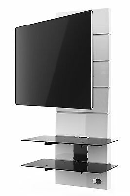 """Meliconi TV Wall Mount Bracket System for 32"""" to 63"""" Televisions White"""