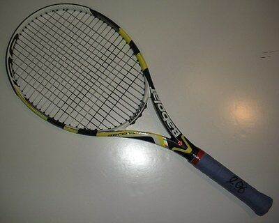 2012 US Open Sam Querrey Second Round Match Used Babolat Signed Tennis Racquet!
