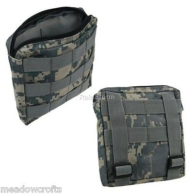 Military Waist Pouch Tactical Molle Utility Sundries Belt Bum Bag Camouflage NEW