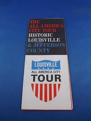 Travel Brochure All America City Tour Historic Louisville & Jefferson County