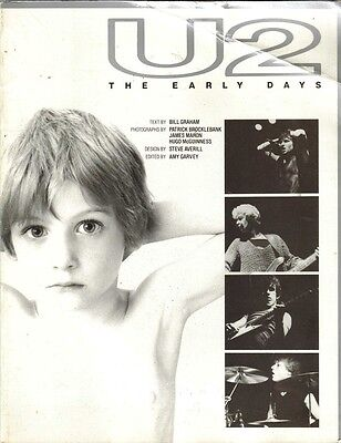U2, The Early Days, 1989 Book