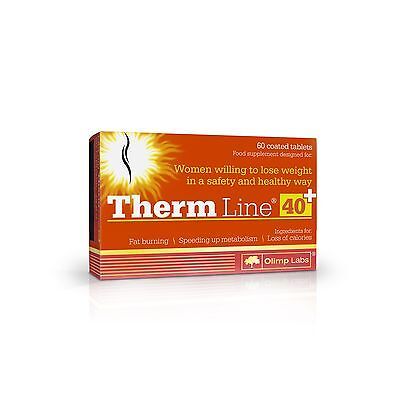 OLIMP THERM LINE 40+ women slimming pills diet weight loss fat burner
