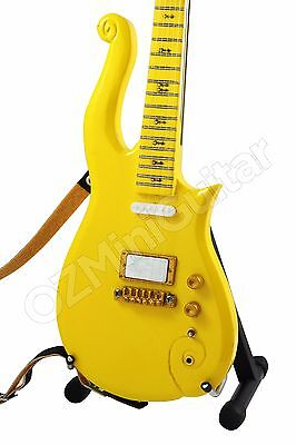 Miniature Guitar PRINCE Cloud Yellow
