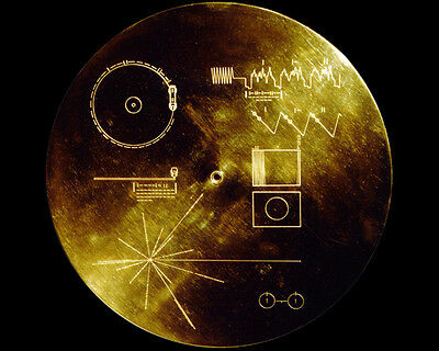 Nasa Voyager Golden Record Sounds Of Earth 11X14 Photo
