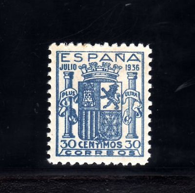 65-SPAIN-ESPAÑA-.ESCUDO de ESPAÑA.1936.Edf.801.MNH.falso.Reproduction.COPY