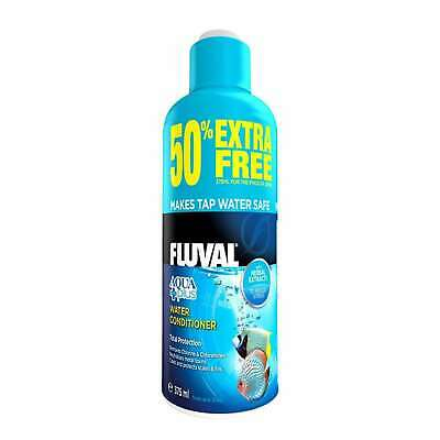 Fluval Aquaplus Aquarium Dechlorinator 250ml + 50% Free  Fish Tank Conditioner