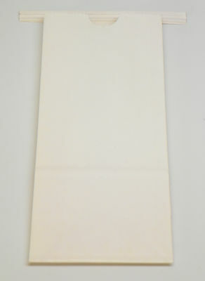 "Lot of 24 White Bakery Bags Coffee Snack Treat Bag, 3-3/8"" x 2-1/2"" x 8"""