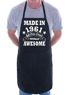 60th Birthday Made In 1959 BBQ Cooking Funny Novelty Apron
