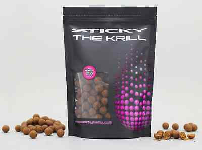 Sticky Baits NEW The Krill Shelf Life Boilies All Sizes *1kg, 5kg or 10kg*