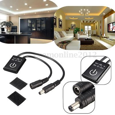 DC12-24V Automatic Waving Hands Sensor Motion Switch LED Lights Strip Lamp 3A