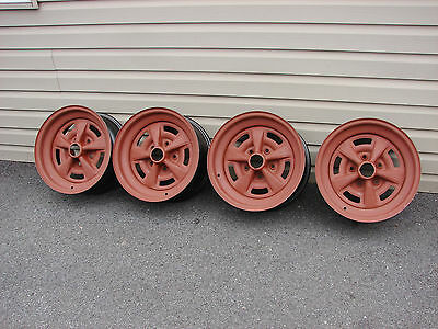 70 71 72 Pontiac Firebird Trans Am Gto Judge 15X7  Rally Ii Wheels Jw Kr Kn