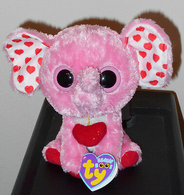 """Ty Beanie Boos ~ TENDER the 6"""" Elephant ~ 2013 MINT with MINT TAGS (PLEASE READ)"""