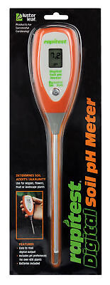Luster Leaf 1845 Rapitest Digital Soil Garden Plant pH Meter Sensor Test Tester