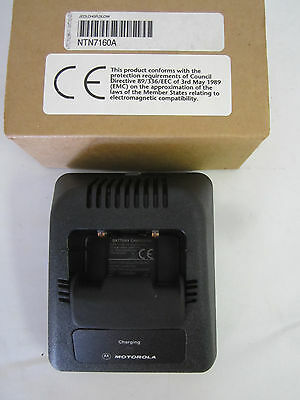 MOTOROLA NTN7160A Charger Cup / Station Only for HT1000, MTS2000, MT, MTX Jedi