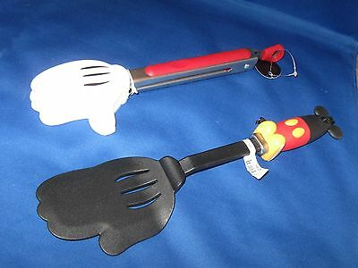 DISNEY PARKS lot of KITCHEN ITEMS Spatula & Large Tongs - NEW