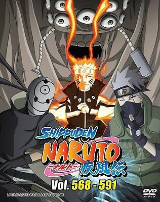NARUTO TV Box 19 | Episodes 568-591 | English Subs | 6 DVDs (GM0144)-LU