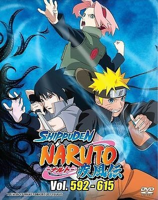 NARUTO TV Box 20 | Episodes 592-615 | English Subs | 6 DVDs (GM0195)-LU