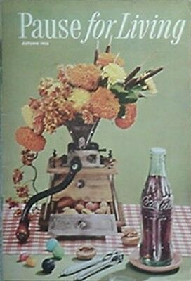1956 Coca-Cola Pause For Living Booklet (Autumn