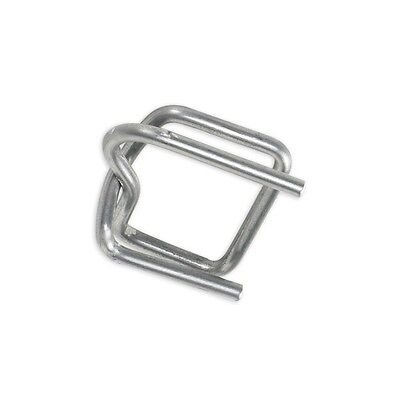 """""""Wire Poly Strapping Buckles, 1/2"""""""", 1000/Case"""""""