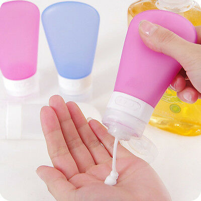 New Portable Muticolor Silicone Packing Sucker Bottle Travel Lotion Points Crea
