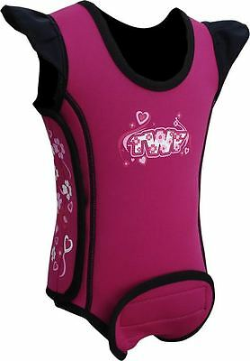 TWF Baby Wrap Wetsuit  -  Heart Pink 2018