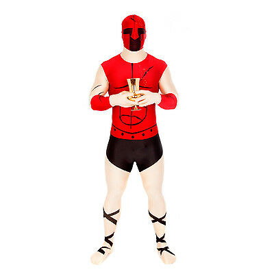 Bullet Hole Morphsuit Fancy Dress Costume for Party Festival Stag Do Double Tap
