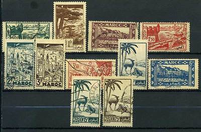 16-05-00399 - Morocco 1945 Yv.  226.. US 100% Monuments 11 val.