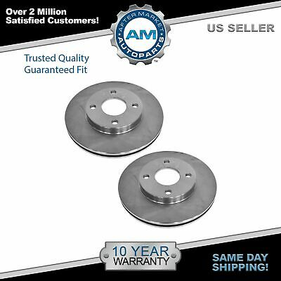 Nakamoto Disc Brake Rotor Front Pair Set for 01-05 Toyota Rav4 New