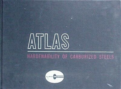 1960 Climax Molybdenum Company Book (Atlas Hardenability Of Carburized Steels