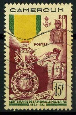 16-06-00294 - Cameroun 1952 Yv.  296 US 100% Medaille Militare
