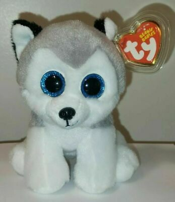 Ty Beanie Baby - BUFF the Husky Dog ~ NEW Release for 2016 ~ MWMT'S ~ IN HAND