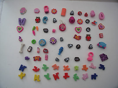 72 Pencil Erasers - Rubbers - Collection - Bundle
