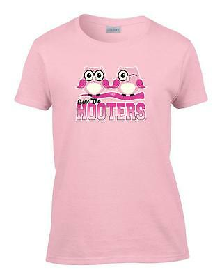 Save The Hooters Owls Pun Funny Breast Cancer Awareness Boy Beater Tank Top