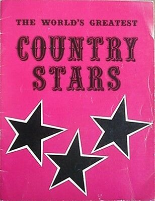 1969 Country Music Stars Pictorial Bk (Twitty, Lynn +) **Signed By Sonny James**