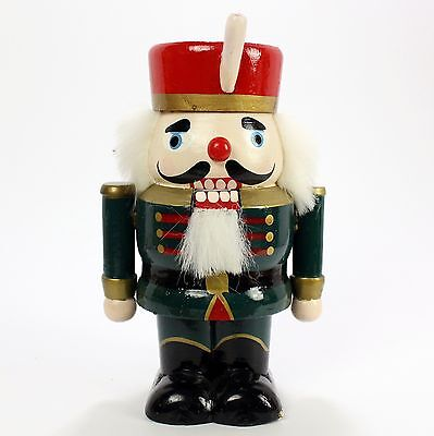 "Vintage Christmas Soldier Nutcracker 6"" Tall"