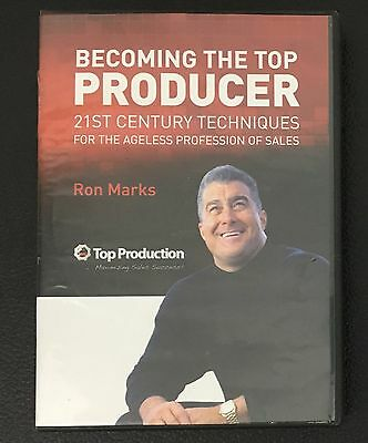 Becoming The Top Producer Ron Marks 6 CD Set 21st Century Techniques Sales