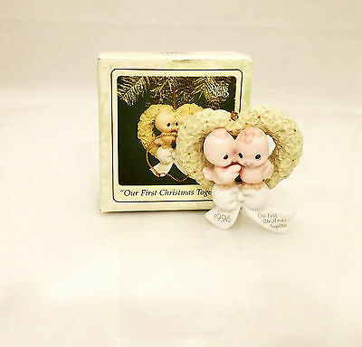 Precious Moments Ornament 1995 Our First Christmas Together - #142700-SDB